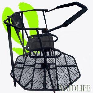mobile jagdkanzel transportabler hochsitz kaufen aus. Black Bedroom Furniture Sets. Home Design Ideas