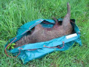 faltbare wildwanne wild transport tasche